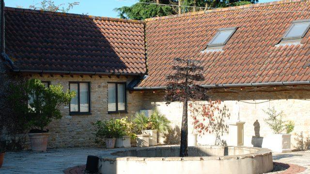 Conversion Studios Courtyard Exterior